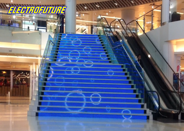 escaleras de led